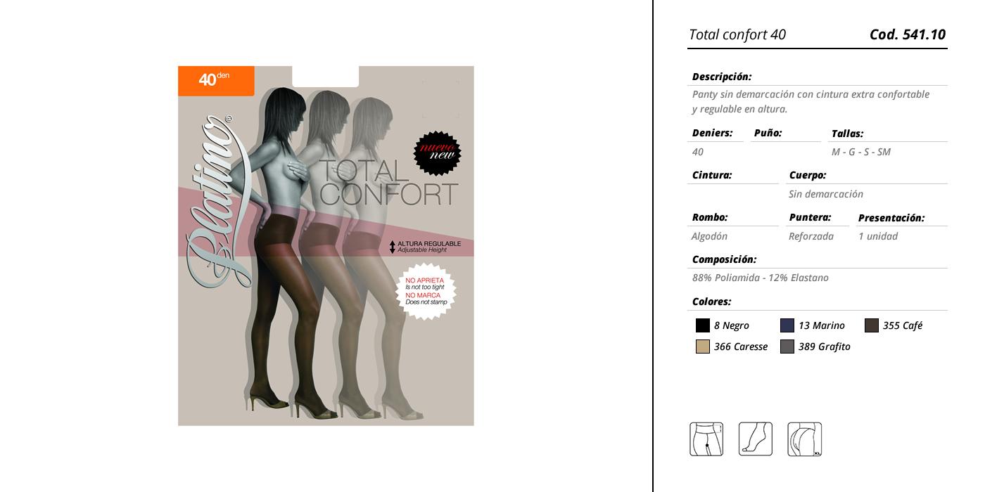 platino-total confort 541-10